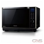 Panasonic NNDS58HB Countertop Microwave, 20 Exterior Width, 1200W Watts, 1.0 cu. ft. Capacity, Stainless Steel colour