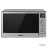Panasonic NNGT69KS Countertop Microwave, 20 Exterior Width, 1100W Watts, 1.1 cu. ft. Capacity, Stainless Steel colour