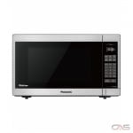 Panasonic NNSC669S Countertop Microwave, 20 Exterior Width, 1200W Watts, 1.3 cu. ft. Capacity, Stainless Steel colour