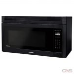 Panasonic NNSE284B Over the Range Microwave, 30 Exterior Width, 1100W Watts, 2.0 cu. ft. Capacity, LED, 450 CFM, Black colour