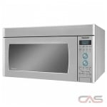 Panasonic NNSD291S Over the Range Microwave, 1100 Watts, 2 cubic ft, LED, 450 CFM, Stainless Steel colour