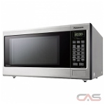 Panasonic NNST663SC Countertop Microwave, 20 Exterior Width, 1200W Watts, 1.2 cu. ft. Capacity, Stainless Steel colour