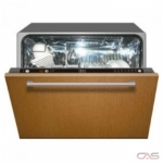 Porter & Charles DW4FI-1 Built-In Undercounter Dishwasher, 24 Exterior Width, 7 Wash Cycles, Custom Panel Ready, Stainless Steel (Interior), 2 Loading Racks, Fully Integrated, 4 Capacity (Place Settings), 45 Decibel Level, Panel Ready