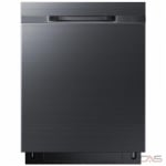 Samsung DW80K5050UG Built-In Undercounter Dishwasher, 24 Exterior Width, 6 Wash Cycles, Stainless Steel (Interior), 2 Loading Racks, Fully Integrated, 15 Capacity (Place Settings), 48 dB Decibel Level, Black Stainless Steel colour
