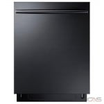Samsung DW80K7050UG Built-In Undercounter Dishwasher, 24 Exterior Width, 6 Wash Cycles, Stainless Steel (Interior), 3 Loading Racks, Fully Integrated, 15 Capacity (Place Settings), 44 Decibel Level, Black Stainless Steel colour