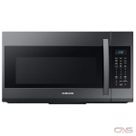 Samsung ME19R7041FG Over the Range Microwave, 30 Exterior Width, 950W Watts, 1.9 cu. ft. Capacity, Halogen, 400 CFM, Black Stainless Steel colour