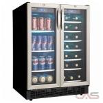 Silhouette DBC2760BLS Beverage Center, 23 13/16 Width, 27 Wine Bottle Capacity, Stainless Steel colour