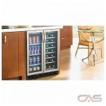 Silhouette DBC2760BLS Beverage Center, 23 13/16 Width, Free Standing & Built In, 27 Wine Bottle Capacity, Stainless Steel colour