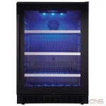 "Silhouette SSBC056D1B-S Under Counter Refrigeration, 24"" Width, ENERGY STAR Certified, Black Stainless Steel colour"