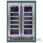 Silhouette DWC047D1BSSPR Wine Cooler, 23 13/16 Width, Free Standing & Built In, 42 Wine Bottle Capacity