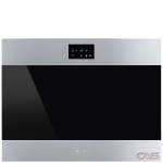 Smeg SME-CVIU318LX Wine Cooler, 24 Width, Built In, 18 Wine Bottle Capacity, Stainless Steel colour