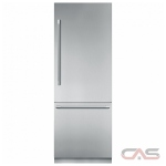 Thermador T30IB900SP Built In Refrigerator, 30 Width, Freezer Located Ice Dispenser, 16.2 cu. ft. Capacity, Counter Depth, LED Lighting, ENERGY STAR Certified, Panel Ready