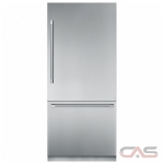 Thermador T36IB900SP Built In Refrigerator, 36 Width, Freezer Located Ice Dispenser, 19.8 cu. ft. Capacity, Counter Depth, LED Lighting, ENERGY STAR Certified, Panel Ready