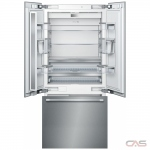 Thermador T36IT901NP Built In Refrigerator, 36 Width, Energy Efficient, 19.4 Capacity, Counter Depth, LED Lighting, Panel Ready