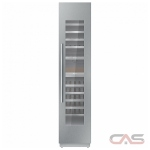 "Thermador T18IW900SP Column Refrigerator, 18"" Width, Custom Panel Ready, 58 Wine Bottle Capacity, Panel Ready"