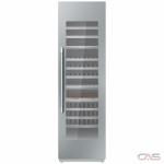 "Thermador T24IW901SP Column Refrigerator, 24"" Width, Custom Panel Ready, 92 Wine Bottle Capacity, Panel Ready"