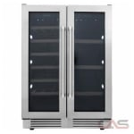Thor Kitchen TBC2401DI Beverage Center, 24 Width, Free Standing & Built In, Stainless Steel colour