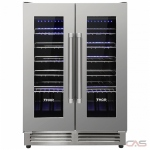Thor Kitchen TWC2402 Wine Cooler, 23 1/2 Width, Free Standing & Built In, 42 Wine Bottle Capacity, Stainless Steel colour