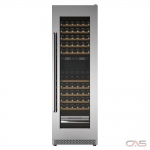 "Thor Kitchen TWC2403DI Wine Cooler, 24"" Width, 162 Wine Bottle Capacity, Stainless Steel colour"