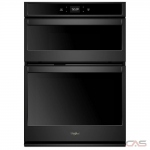 Whirlpool WOC54EC0HB Microwave Wall Oven, 30 Exterior Width, Self Clean, 6.4 cu. ft. Capacity, Wifi Enabled, Black colour