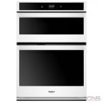 Whirlpool WOC54EC0HW Microwave Wall Oven, 30 Exterior Width, Self Clean, 6.4 cu. ft. Capacity, Wifi Enabled, White colour