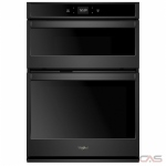 Whirlpool WOC54EC7HB Microwave Wall Oven, 27 Exterior Width, Self Clean, 5.7 cu. ft. Capacity, Wifi Enabled, Black colour