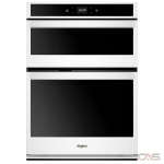 Whirlpool WOC54EC7HW Microwave Wall Oven, 27 Exterior Width, Self Clean, 5.7 cu. ft. Capacity, Wifi Enabled, White colour