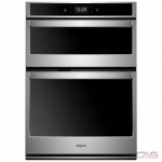 Whirlpool WOC75EC0HS Microwave Wall Oven, 30 Exterior Width, Self Clean, Convection, 6.4 cu. ft. Capacity, Wifi Enabled, Stainless Steel colour