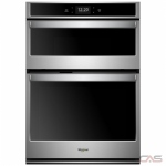 Whirlpool WOC75EC7HS Microwave Wall Oven, 27 Exterior Width, Self Clean, Convection, 5.7 cu. ft. Capacity, Wifi Enabled, Stainless Steel colour