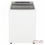 Whirlpool WTW7500GW Top Load Washer, 27 1/2 Width, Energy Efficient, 5.5 Capacity, 27 Wash Cycles, 5 Temperature Settings, 850 Washer Spin Speed, White colour