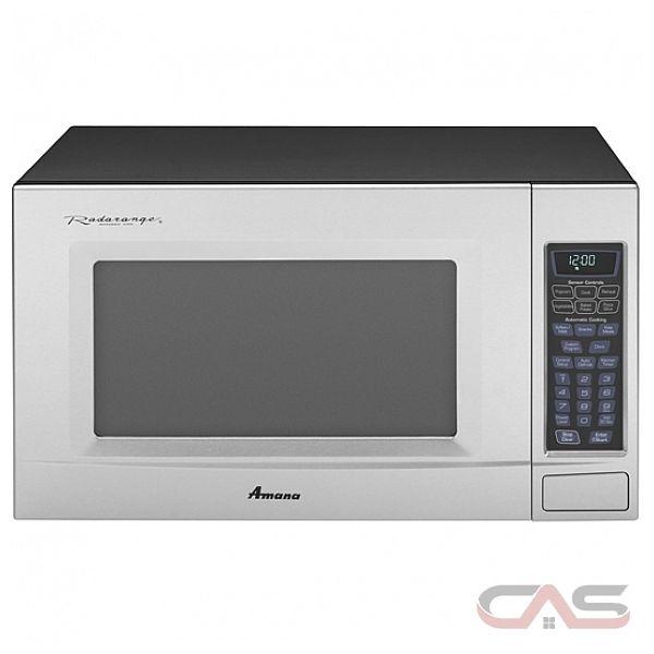 Amana AMC2206BAS 2.0 cu. ft., 1,100 watt Countertop Microwave Oven ...