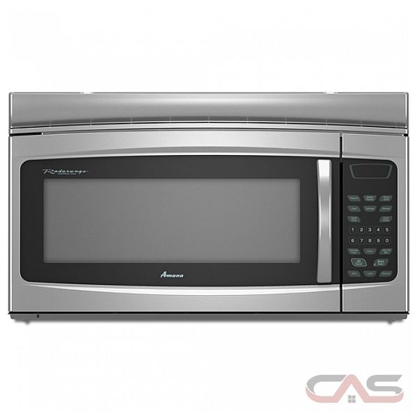 Amana Countertop Stove : Amana AMV1160VAD Over the Range Microwave, 30in, 1.6 Cu.Ft, 1,000 ...