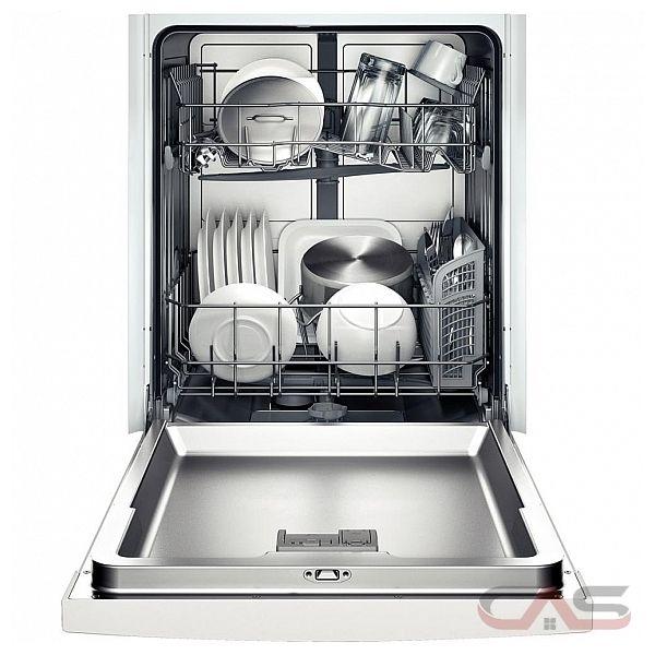 Bosch (SHE3AR52UC) Built In Dishwasher Ascenta Silence Rating: 50 dBA ...