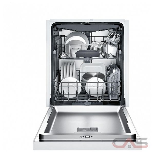 Bosch 300 Series Shem63w52n Built In Undercounter Dishwasher 24 Exterior Width 6 Wash Cycles