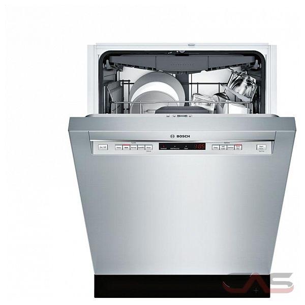 Shop Samsung 55 Decibel Built In Dishwasher Stainless: SHEM63W55N Bosch 300 Series Dishwasher Canada