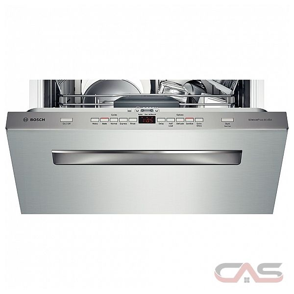 how to use bosch ecosense dishwasher