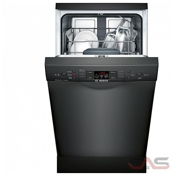 Whirlpool Wdf518saaw Whirlpool 18 In 57 Decibel Built In: SPE53U56UC Bosch 300 Series Dishwasher Canada