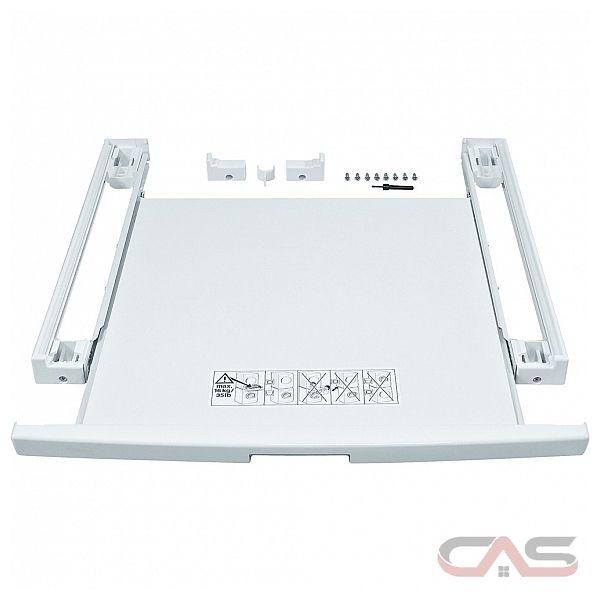 Bosch wtz11400 kit de superposition avec tablette pour - Kit de superposition avec tablette ...