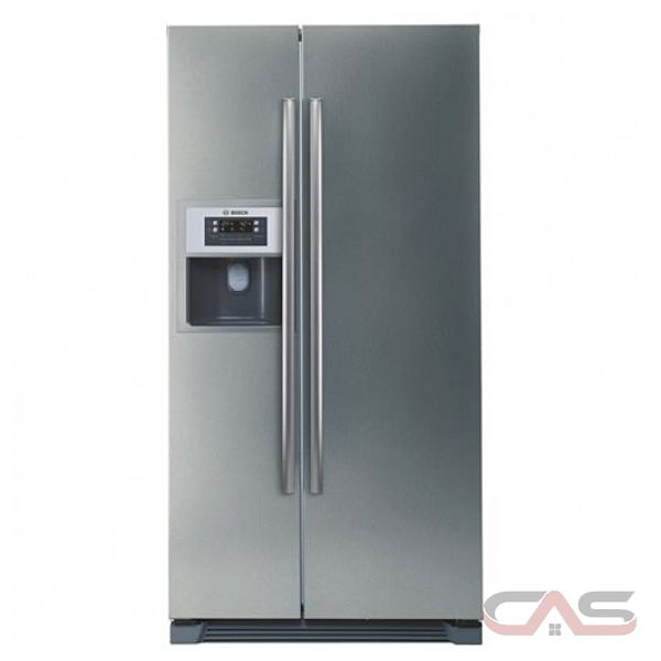bosch b20cs50sns counter depth side by side refrigerator with cu. Black Bedroom Furniture Sets. Home Design Ideas
