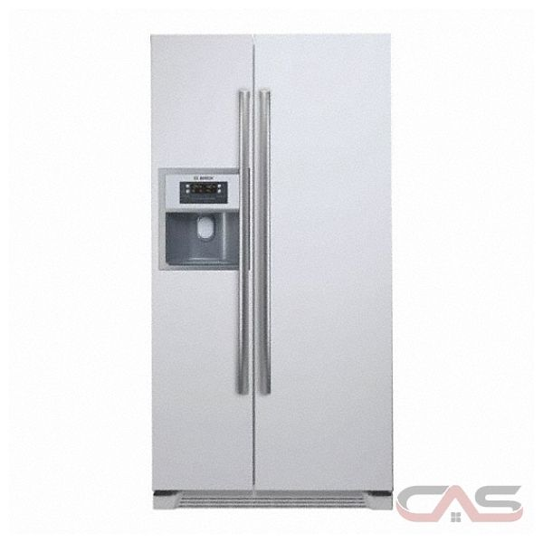 bosch b20cs80snw counter depth side by side refrigerator with 20 cu. Black Bedroom Furniture Sets. Home Design Ideas