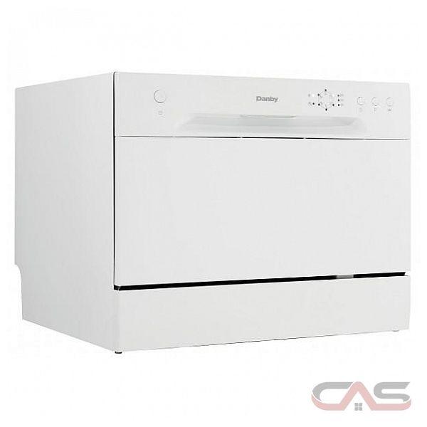Danby ddw621wdb lave vaisselle portatif 6 cycles de lavage console compl te - Lave vaisselle portatif ...