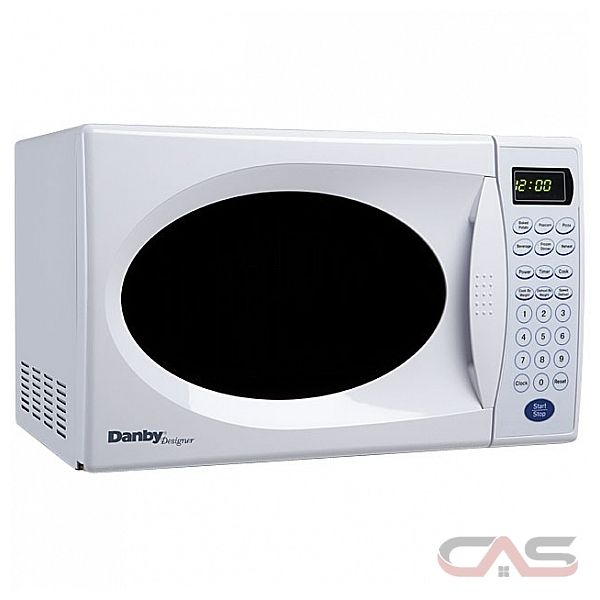 Danby DMW753W 0.7 cu. ft. Countertop Microwave Oven with 800 Cooking ...