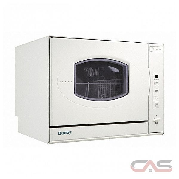 Countertop Portable Dishwasher Canada : Danby DDW497W 23