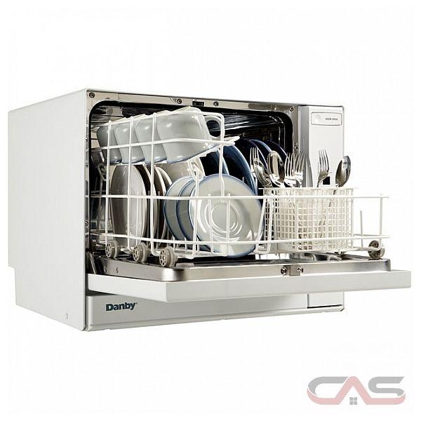 Countertop Dishwasher Canada Stores : Danby DDW497W 23