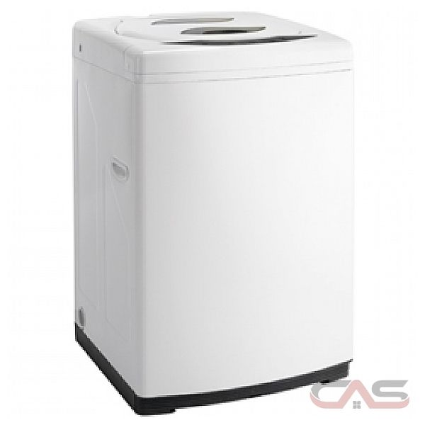 Danby DWM17WDB Portable Washer, 11 lb, 8 Wash Cycles, 3 Temperature Settings, 1400 Washer Spin Speeds (RPM), White colour