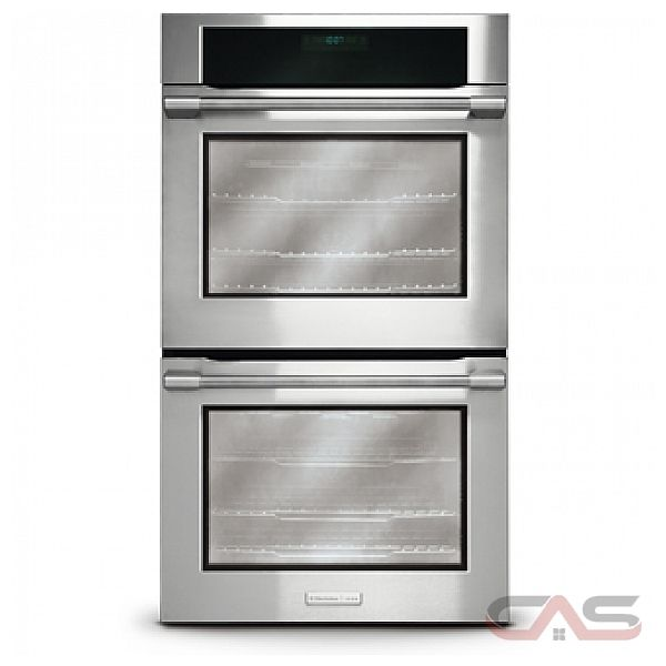 Electrolux Icon E30EW8CGPS Double Wall Oven, 30 in, 8.4 cu.ft,(Total) with Upper/Lower CustomConvect3 Convection Ovens, 6 Smooth-Glide Racks, Temperature Probe, Halogen Lighting and Wave-Touch Control