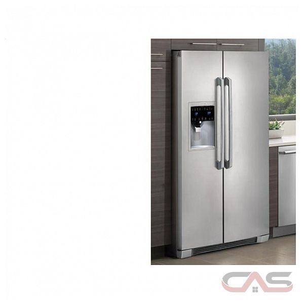Electrolux Iq Touch Series Ei26ss30j 25 Side By Side Side
