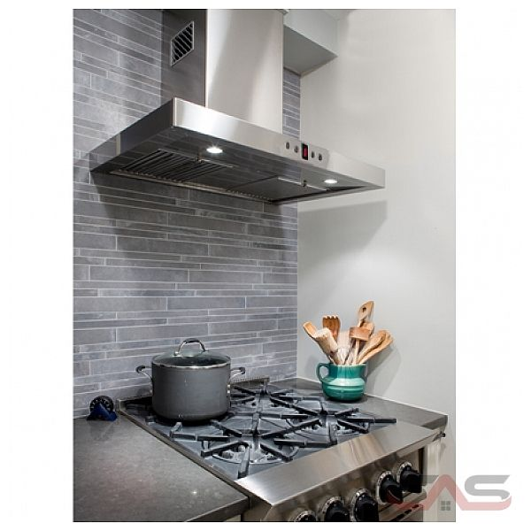 faber stil48ss hotte 48 largeur ext rieure chemin e convient aux deux halog ne 600 cfm. Black Bedroom Furniture Sets. Home Design Ideas