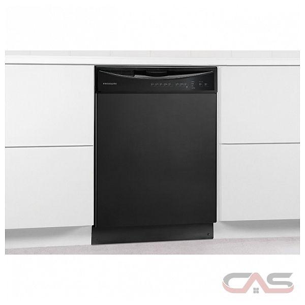 frigidaire ffbd2411nb lave vaisselle 24 largeur ext rieure 5 cycles de lavage 2 paniers de. Black Bedroom Furniture Sets. Home Design Ideas