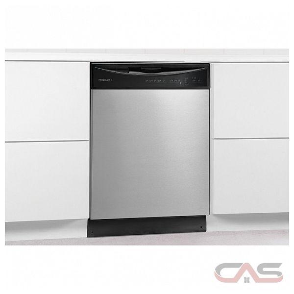 frigidaire ffbd2411ns lave vaisselle 24 largeur ext rieure 5 cycles de lavage 2 paniers de. Black Bedroom Furniture Sets. Home Design Ideas
